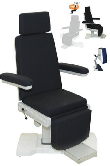 Fotel laryngologiczny zabiegowy 03-S
