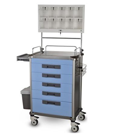 Wózek medyczny anestezjologicznyWózek opatrunkowy- anestezjologiczny JDEMZ 234